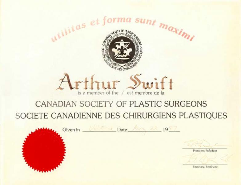 Dr Arthur Swift Montreal Meet The Most Renowned Plastic