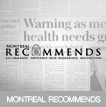 Dr. Swift's News Montreal - Montreal Recommends